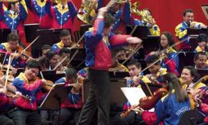 Dudamel conducts Simon Bolivar Youth Orchestra of Venezuela