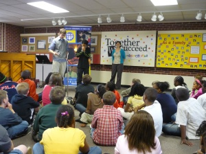 From the Top visits Johnson Elementary in Cedar Rapids