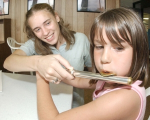 Brittany Vogt flute