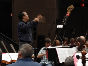 CREDIT JOHN SERVIES -Thomas Hong, conductor of DSO