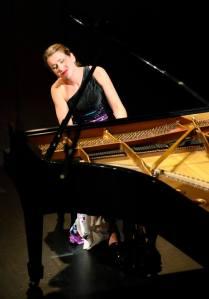 Lindsay Garritson competes at the Cliburn